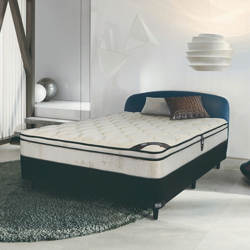 colchón sommier simmons backcare hotel bilt 2 plazas 200x160