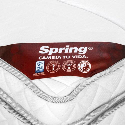 colchon spring active z13 semi doble 120x190
