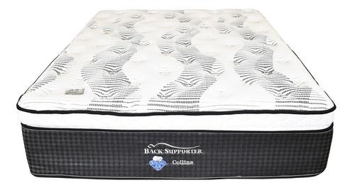 colchón spring air collins ortopédico para cama matrimonial
