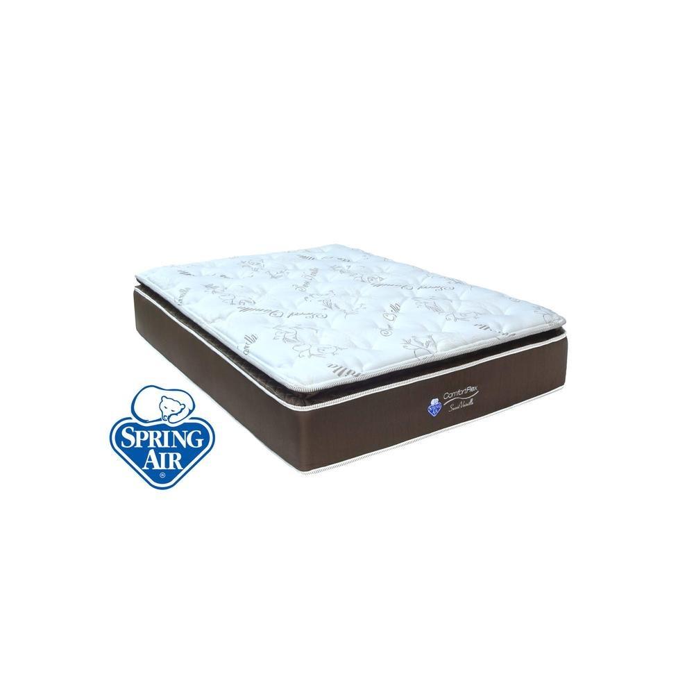 Colch N Spring Air Sweet Vanilla Queen 8 699 00 En Mercado Libre # Tienda Vainilla Muebles