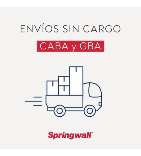 colchón springwall 314 - queen - 160x200