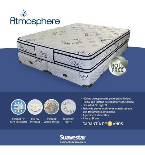colchón suavestar atmosphere memory pillow top 140x190