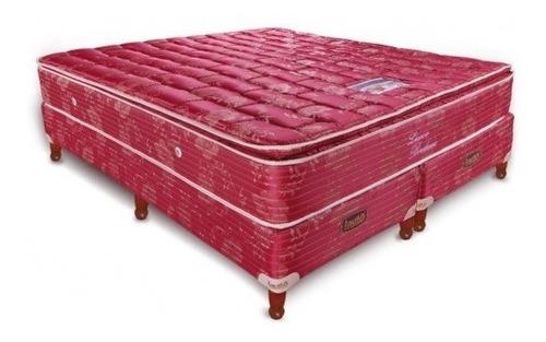 colchon taurus luxor c/pillow tela de jackard 190x140