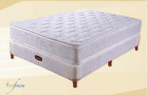 colchon taurus resortes equis 190x160