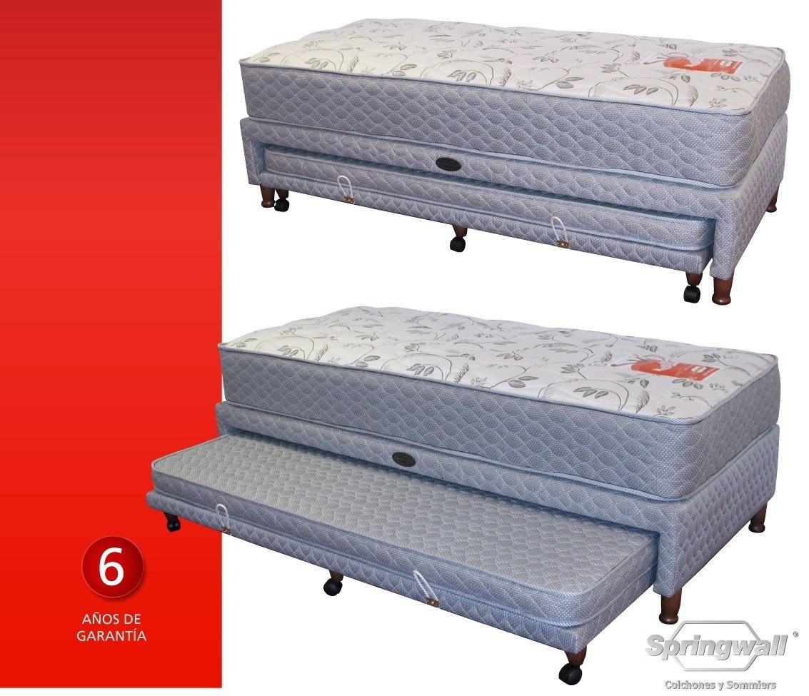Colchones de 90 good cama nido modelo canguro y colchones for Camas y colchones