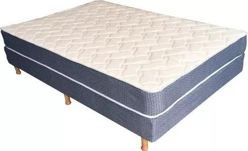 colchon y somier dos plazas sommier jacquard pillow 2p ofert