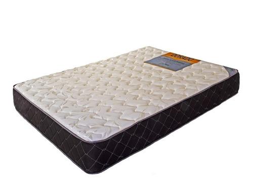 colchon y sommier alta densidad 2 1/2 plazas 160x190 30kg/m3