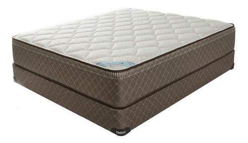 colchón y sommier belmo belspring 2 - 2 plazas 1/2 - 150x190