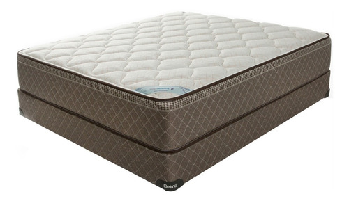 colchón y sommier belmo belspring 2 - 2 plazas - 130x190