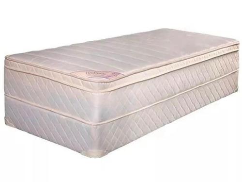 colchon y sommier belmo belspring pillow 1 plaza 1/2 100x190