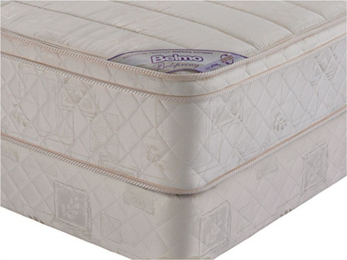 colchon y sommier belmo belspring pillow 2 plaza 1/2 150x190