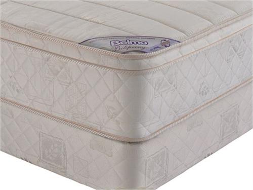 colchon y sommier belmo belspring pillow queen size 160x190