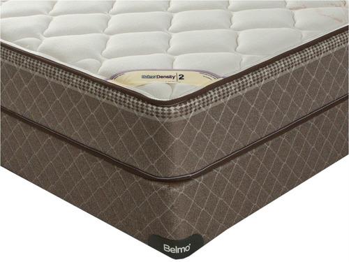 colchón y sommier - belmo density 2 - queen - 160x200