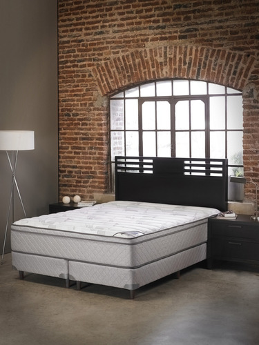 colchon y sommier belmo pocket resortes queen size 160x200