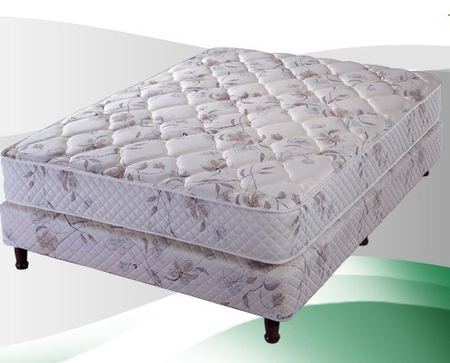 colchon y sommier cannon platino 2 pl 190x140