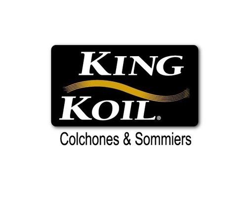 colchon y sommier king koil finesse 1.00 x 1.90 envio gratis