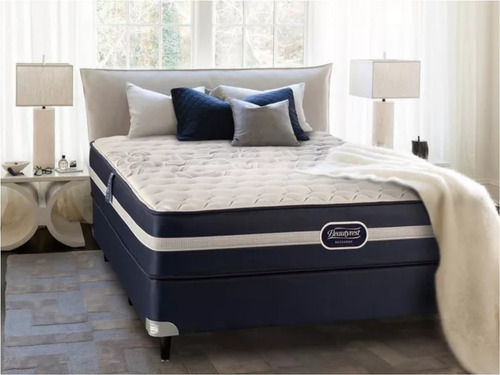 colchon y sommier simmons beautyrest classic 140x190