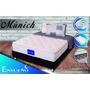 Colchon Ensueño® Munich Pillowtop 140x190+ Base + Lenceria