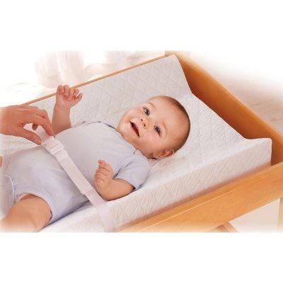 colchones de bebes con seguridad 100% impermeable blanco