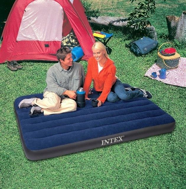 Colchones inflables intex colchon doble 68758 camping en mercado libre - Colchones inflables camping ...