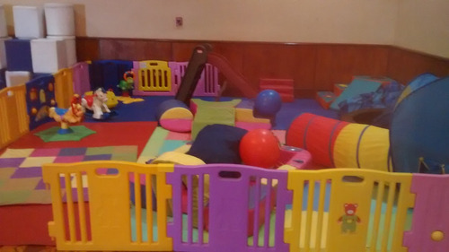 colchones inflables para fiesta-guarderia infantil