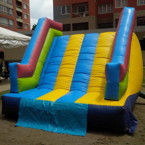 colchones inflables, toboganes, escaladoras, camas elastica.