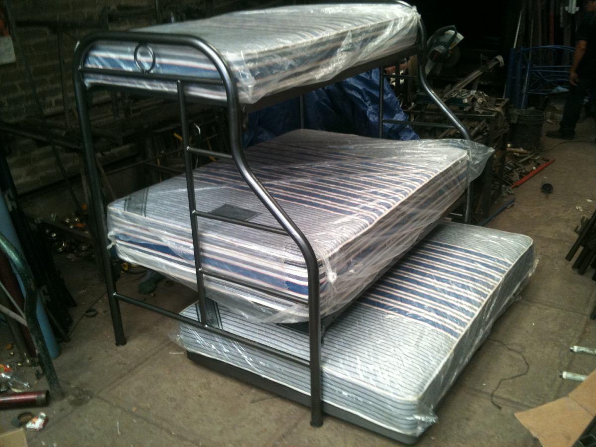 Colchones literas y camas directamente precio de fabrica for Camas nido triples precios