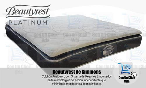 colchones simmons beautyrest platinum 160x190