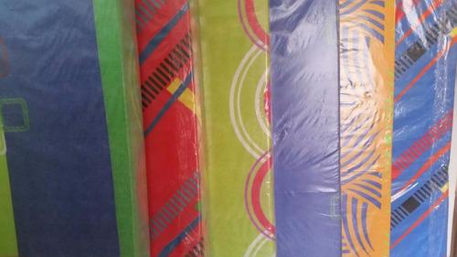 colchoneta colchón espuma gris densidad 30 sencilla espumado