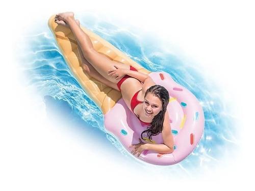 colchoneta cono inflable para piscina
