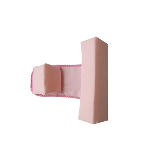 colchoneta corral m/m baby´store cc3-rosa y cojín seguridad