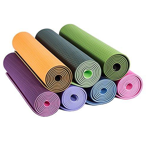 colchoneta de yoga de love's 6mm thick premium antideslizan