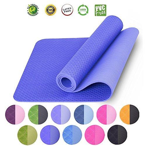 colchoneta de yoga para hot yoga pilates workout fitness tpe