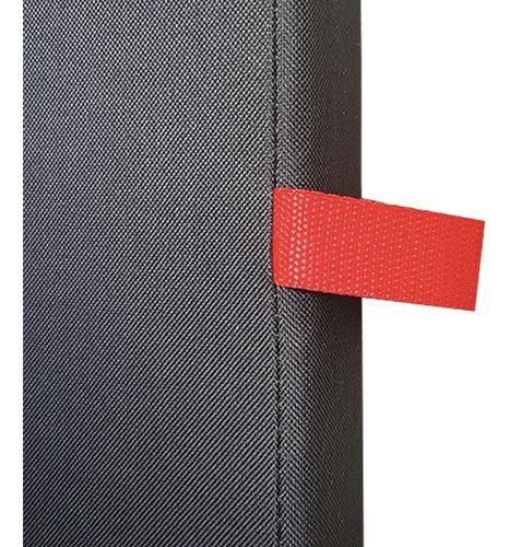 colchoneta deportiva 100x50x4 cm tela oxford densidad 60