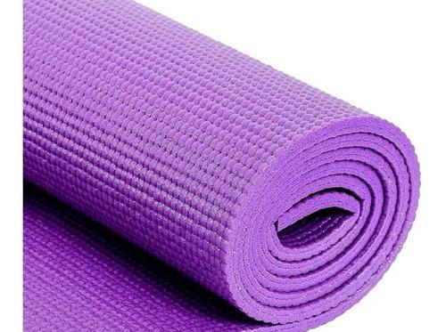 colchoneta fitnes daiwa enrollable gym yoga 6mm colores