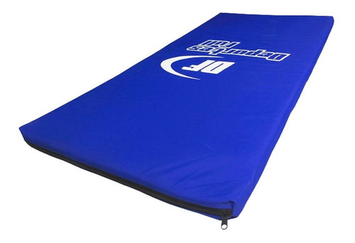 colchoneta gimnasia 1 x 42 c/cierre yoga lona importada df