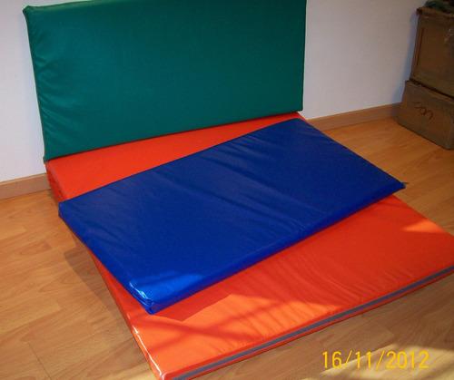 colchoneta gimnasia 1 x0,50x0.04con cierre yoga pilates gym