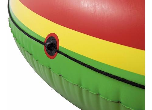 colchoneta inflable gigante sandia bestway pileta playa isla