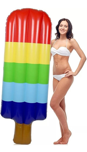 colchoneta inflable helado gigante pileta bestway pileta