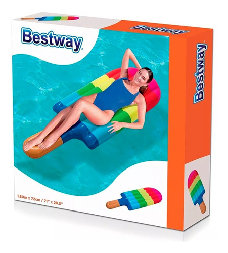 colchoneta inflable palito helado bestway 43161 full