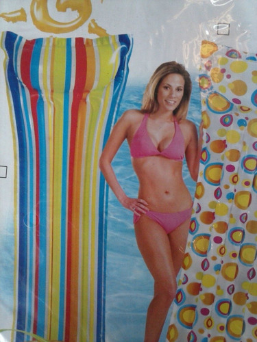 colchoneta inflable para piscina intex