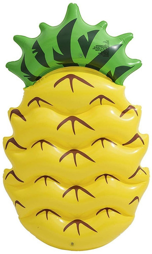 colchoneta inflable piña anana bestway 43159 pileta playa