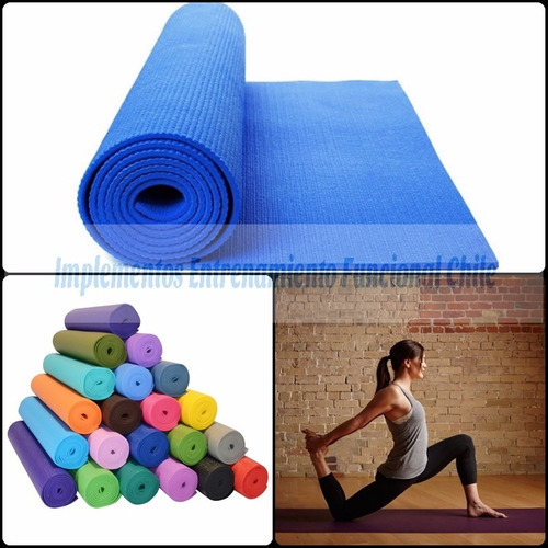 colchoneta mat yoga pilates 4mm