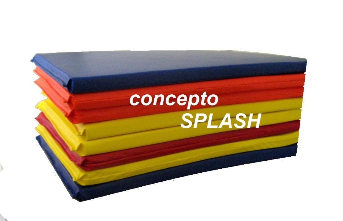 Colchoneta multiusos de vinyl de 60 x 120 x 5 cm bebes y gy en mercado libre - Colchonetas para dormir en el suelo ...