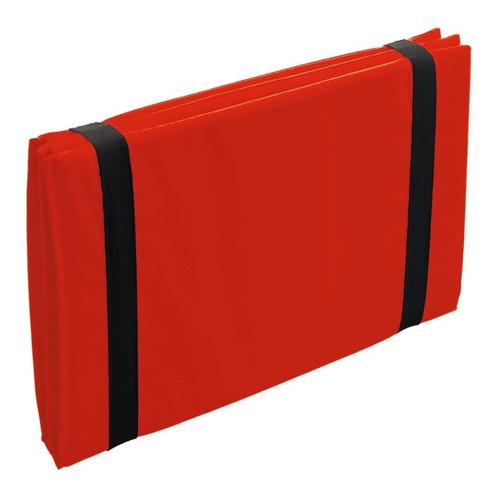 colchoneta plegable libro gimnasia fitness para abdominales
