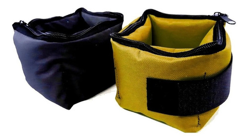 colchoneta+tobilleras 2kg + banda elastica manijas reforzada