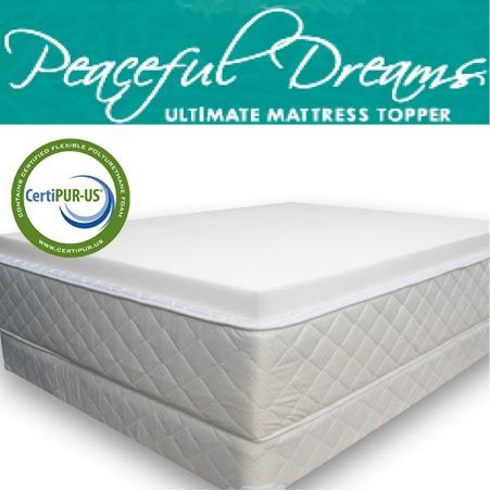 Colchoneta topper queen size 100 memory foam certificado for Cuanto cuesta una cama king size