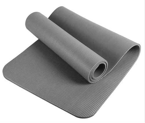 colchoneta yoga mat forest fitness pilates enrollable 10mm