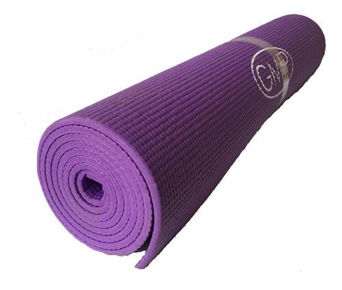 colchoneta yoga mat pilates 8 mm enrollable fitness matt pvc