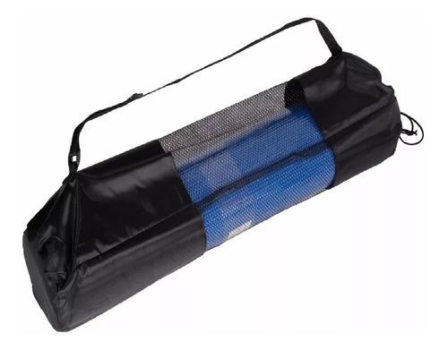 colchoneta yoga mat pilates fitness 6mm con funda transporta